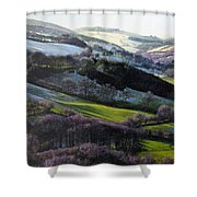 Winter In North Wales Shower Curtain