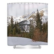 Winter Peace 3 Shower Curtain