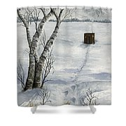 Winter Splendor Shower Curtain