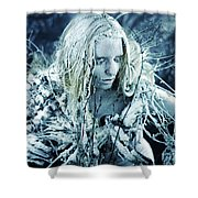 Winter's Sorrow Shower Curtain