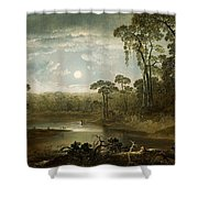Witch Duck Creek Shower Curtain