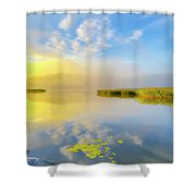 Wonderful Morning Shower Curtain