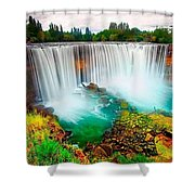 Wonderful Places In The World Shower Curtain