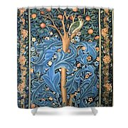 Woodpecker Tapestry Shower Curtain
