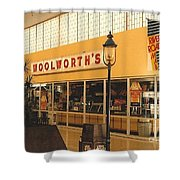Woolworth's Store At River Roads Mall  Shower Curtain