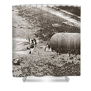 World War I: Balloon Shower Curtain