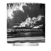 World War II: Pearl Harbor Shower Curtain