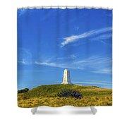 Wright Brothers Memorial Panorama Shower Curtain