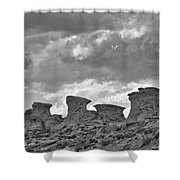 Wyoming Landscape Shower Curtain