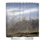 Xinjiang Province China Shower Curtain