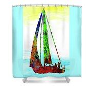Yachtsman Shower Curtain