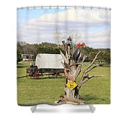Yard Art 115 Shower Curtain