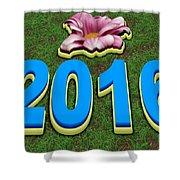 Year 2016 Shower Curtain