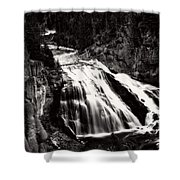 Yellowstone's Gibbon Falls Shower Curtain