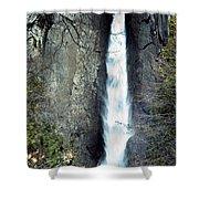 Yosemite Bridal Veil Falls Shower Curtain