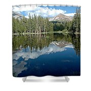 Yosemite Reflections A Shower Curtain