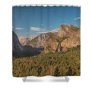 Yosemite Valley View Shower Curtain