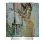 Young Girl 57905062 Shower Curtain