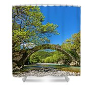 Zagora Traditional Bridge Shower Curtain
