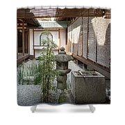 Zen Garden, Kyoto Japan Shower Curtain