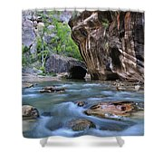Zion National Park Narrows Shower Curtain