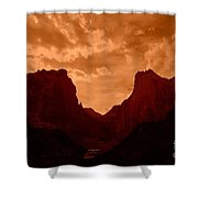 Zionized Shower Curtain