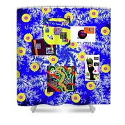 10-12-2056h Shower Curtain