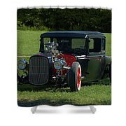 1930 Ford Coupe Hot Rod Shower Curtain