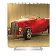 1932 Ford Hiboy Roadster Shower Curtain