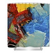 10 20 30  Shower Curtain by Cliff Spohn