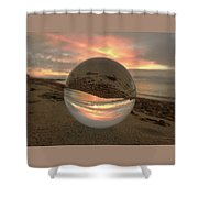 10-27-16--1914 Don't Drop The Crystal Ball, Crystal Ball Photography Shower Curtain