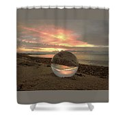 10-27-16--1918 Don't Drop The Crystal Ball, Crystal Ball Photography Shower Curtain