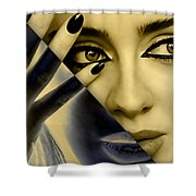 Adele Collection Shower Curtain