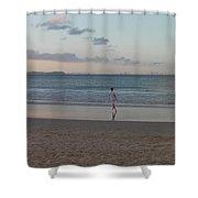 Australia - Calm Seas At Greenmount Beach Shower Curtain