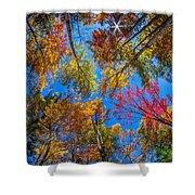 Autumn Season In Killarney Shower Curtain