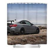 #bmw #m4 Shower Curtain
