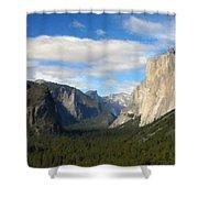 C Landscape Shower Curtain