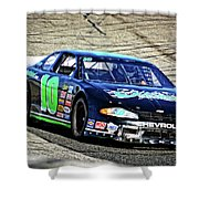10 Chevrolet The Racing School Shower Curtain