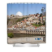 City Of Porto In Portugal Shower Curtain