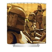 Collection Star Wars Art Shower Curtain