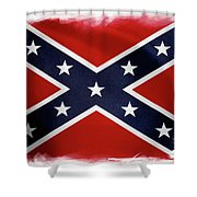 Confederate Flag 10 Shower Curtain