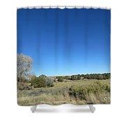 Desert Landscape Shower Curtain