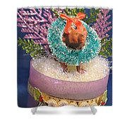 Diorama Miniature Scene Shower Curtain