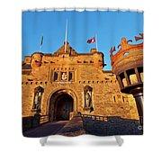 Edinburgh Castle, Scotland Shower Curtain