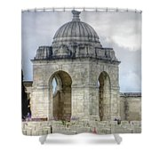 Flanders Fields Belgium Shower Curtain