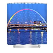Glasgow, Scotland Shower Curtain