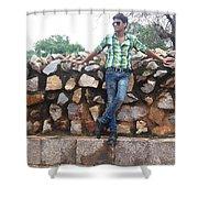 Harpal Singh Jadon Shower Curtain