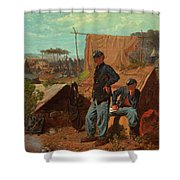 Home, Sweet Home Shower Curtain