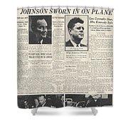 John F Kennedy (1917-1963) Shower Curtain