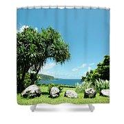 Keanae Maui Hawaii Shower Curtain